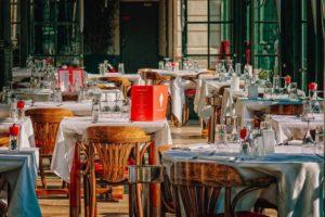 Imagen de archivo de un restaurante.